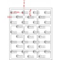 A.027.015.3(45)014-11 - Etiqueta em Papel Couche Adesivo Plus - 11 rolos