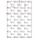 A.040.040.2(45)053-33 - Etiqueta em Filme Bopp Perolizado Adesivo DFM 430 - 33 rolos