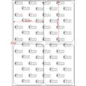 A.052.070.2(45)017-33 - Etiqueta em Filme Poliester Cromo Fosco Adesivo - 33 rolos