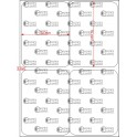 A.052.070.2(45)053-22 - Etiqueta em Filme Bopp Perolizado Adesivo DFM 430 - 22 rolos