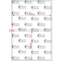 A.071.053.1(45)053-11 - Etiqueta em Filme Bopp Perolizado Adesivo DFM 430 - 11 rolos