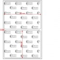 A.080.060.1(35)005-14 - Etiqueta em Papel Couche Duplo Uso Adesivo - 14 rolos