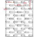 A.025.025.2(45)002-22 - Etiqueta em Papel Termo Transfer Adesivo - 22 rolos