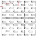 A.035.015.3(45)008-22 - Etiqueta em Papel Couche Adesivo  - 22 rolos