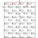 A.046.013.2(45)015-33 - Etiqueta em Filme Bopp Branco Fosco Adesivo   - 33 rolos