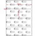 A.076.024.1(45)002-22 - Etiqueta em Papel Termo Transfer Adesivo - 22 rolos