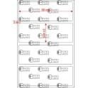 A.068.024.1(45)015-11 - Etiqueta em Filme Bopp Branco Fosco Adesivo   - 11 rolos