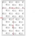 A.080.060.1(45)004-22 - Etiqueta em Papel Termo Transfer Adesivo Removivel - 22 rolos