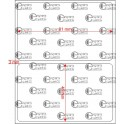A.081.049.1(45)011-11 - Etiqueta em Filme Bopp TT Perolado Adesivo   - 11 rolos