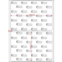A.100.070.1(45)015-33 - Etiqueta em Filme Bopp Branco Fosco Adesivo   - 33 rolos