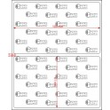 A.103.061.1(45)002-22 - Etiqueta em Papel Termo Transfer Adesivo  - 22 rolos